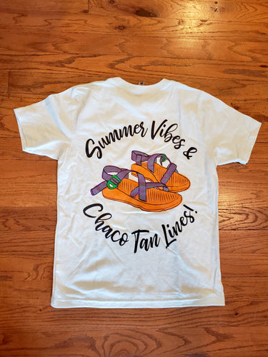 Summer Vibes & Tan Lines t-shirt