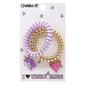 Charm It! Coil hair ties