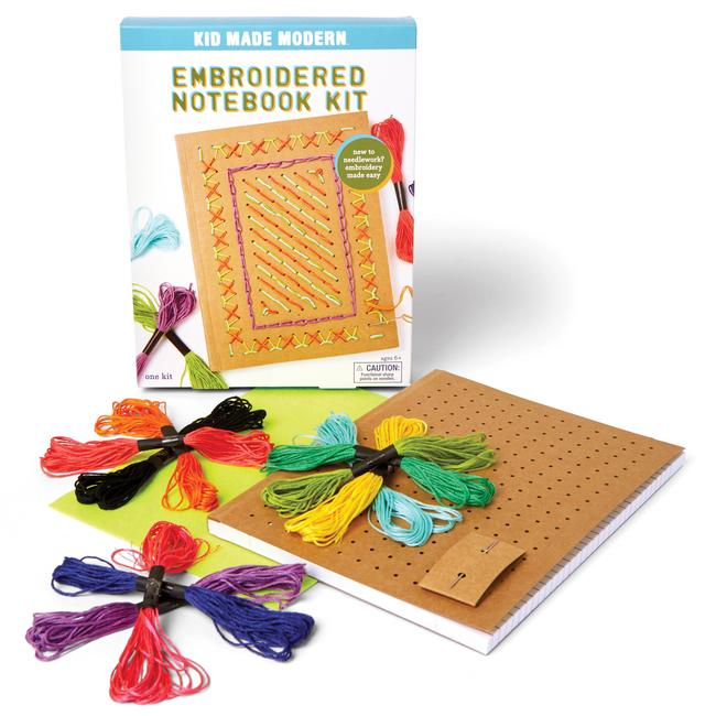 Embroidered Notebook Kit