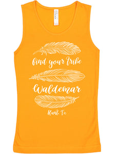 Find Your Tribe youth tank tops