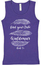 Load image into Gallery viewer, Find Your Tribe youth tank tops