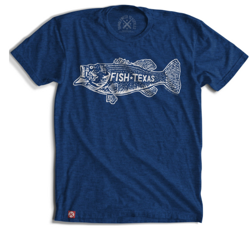 Fish Texas Bass t-shirt