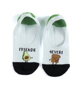 Friend Forever No Show socks