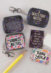 Natural Life Tiny Tin Notes