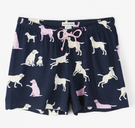 Women's Dog Days of Summer Pajama Shorts