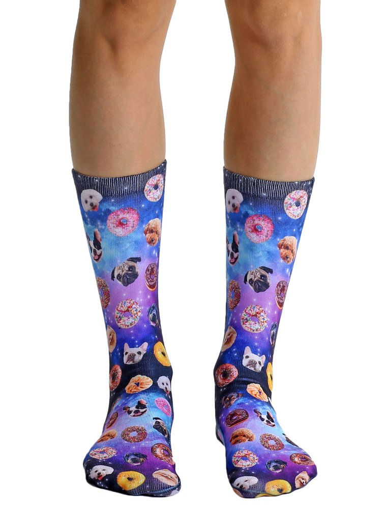 Living Royal Dog Cravings Crew Socks