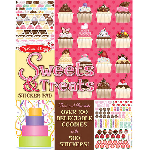 Sweets & Treats sticker pad