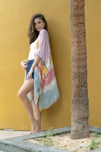 Load image into Gallery viewer, Malena Tie-Dye Kimono