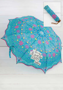Natural Life Fold Up Umbrellas