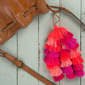 Natural Life Tassel Tie-On