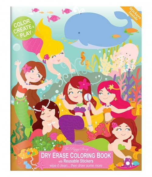 Dry Erase Coloring Books