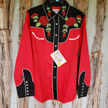 Load image into Gallery viewer, Rockmount Women's 2 Tone Nashville Rose western shirt