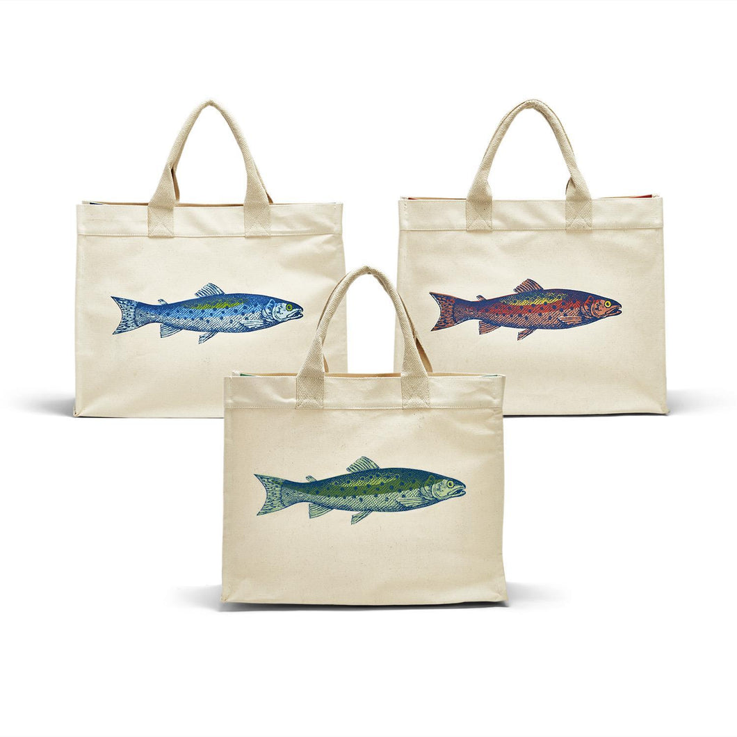 Lakin' It Easy Fish Tote