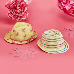 Girls' Flock Star Straw Hats
