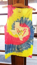 Load image into Gallery viewer, Texas Tie-Dye Tank Tops
