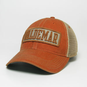 Waldemar Patch Trucker Hat
