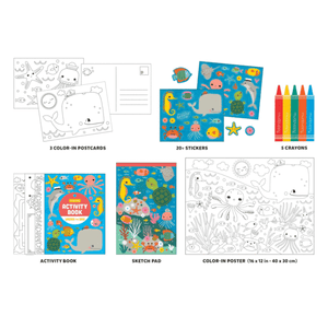 Under The Sea Activity Pack To Go