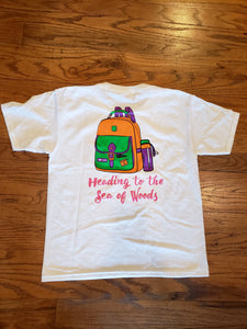 Heading to the Sea of Woods t-shirt