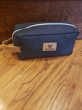 Load image into Gallery viewer, Camp Waldemar Heathered Toiletry Bag