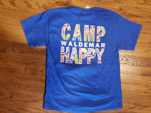 Youth Camp Happy t-shirt