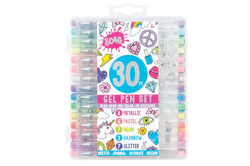 30 pc Gel Pen Set