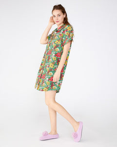 Short Sleeve Leisure Dress