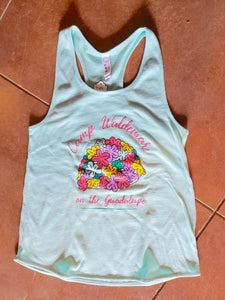 Retro Swim Cap tank