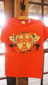 "Tribal ""Hero"" t-shirts"
