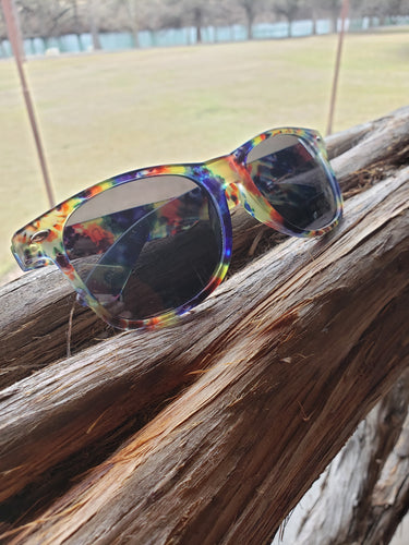 Camp Waldemar Tie-Dye Sunglasses
