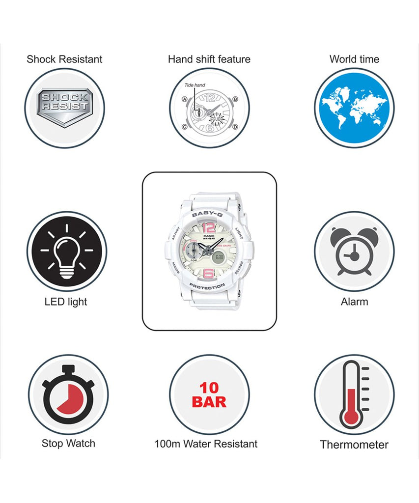Baby G Bga 180 Ph Watches Casio 7b1