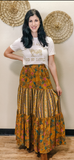 Mix n' Match Burnished Gold Skirt