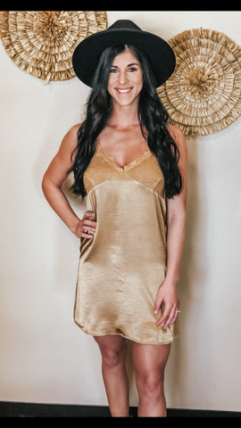 Tania Satin Slip Dress