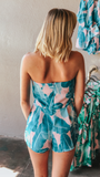 Cotton Candy Palms Romper