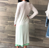 Daisy Off White Duster