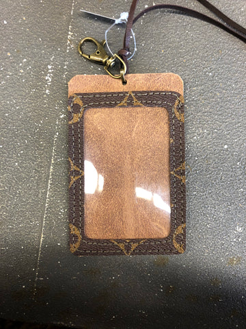 Louis Vuitton Upcycled Leathers Card/ID Holder