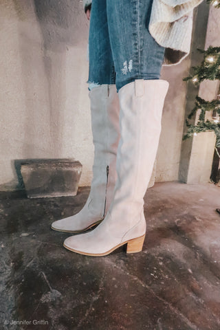 Izzy boot taupe