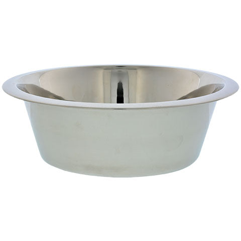 Stainless-Steel Dog Bowls, 27.45 oz.