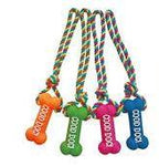 Good Dog Rope Vinyl  Toys, Squeaky 13.5 in.