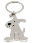 Smiling Dog Keychain