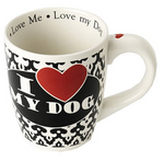 """I Love My Dog"" Jumbo Coffee Mug, 28-oz"