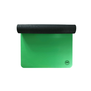 Recycled Rubber Yoga Mat in Green