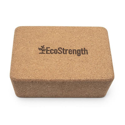 Pure Cork Yoga Block - EcoStrength