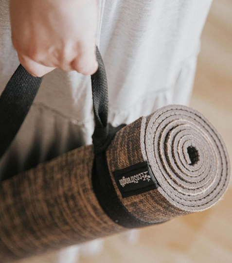 Natural Hemp Blend Yoga Mat (5mm)