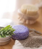 Love Me Lavender Organic Shampoo Bar + Travel Tin