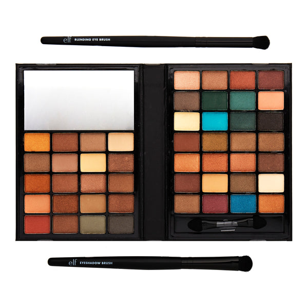 ($15 Value) e.l.f. Cosmetics Holiday 48 Color Eyeshadow and Brush Set