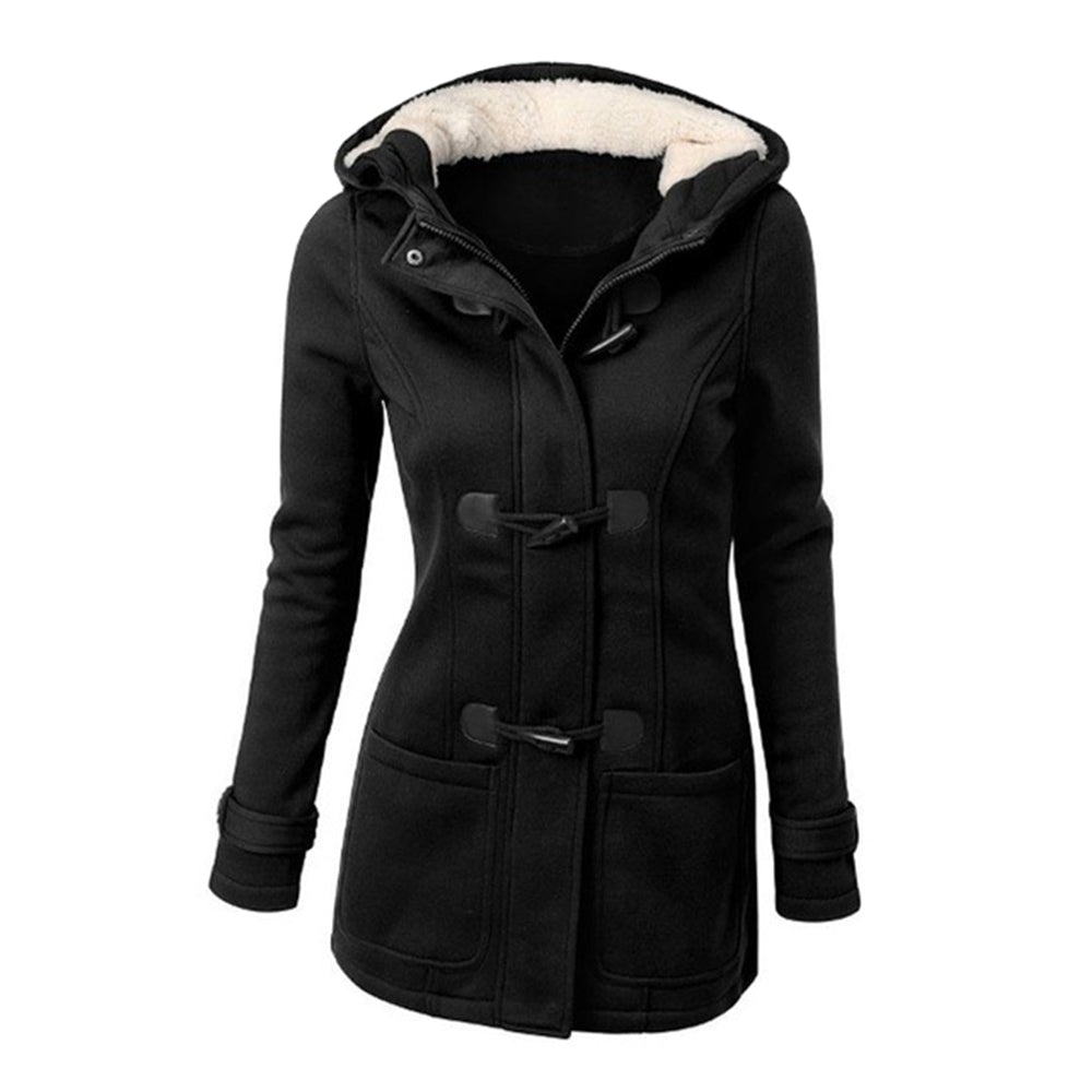 Women's hats  jackets  tampons  jackets  coats  sizes up to 6XL (BLACK 5XL)