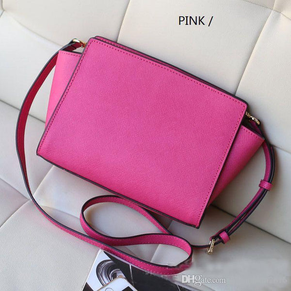 2018 new women bags famous brand luxury lady PU leather handbags famous Designer brand bags purse shoulder tote Bag selma 3038 Fuchsia