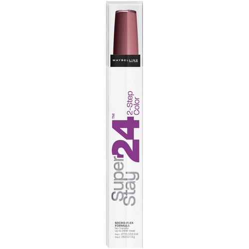 Maybelline SuperStay 24hr 2-Step Lipcolor, Constantly Cabernet