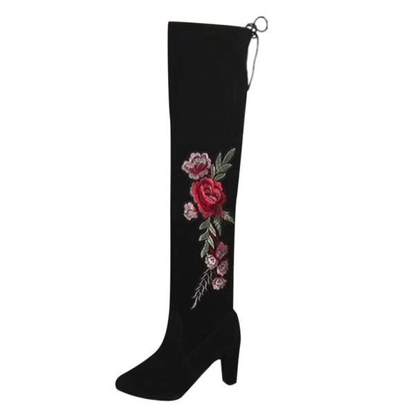 High Heel Boots Lady Party Long Leg Boots Shoes