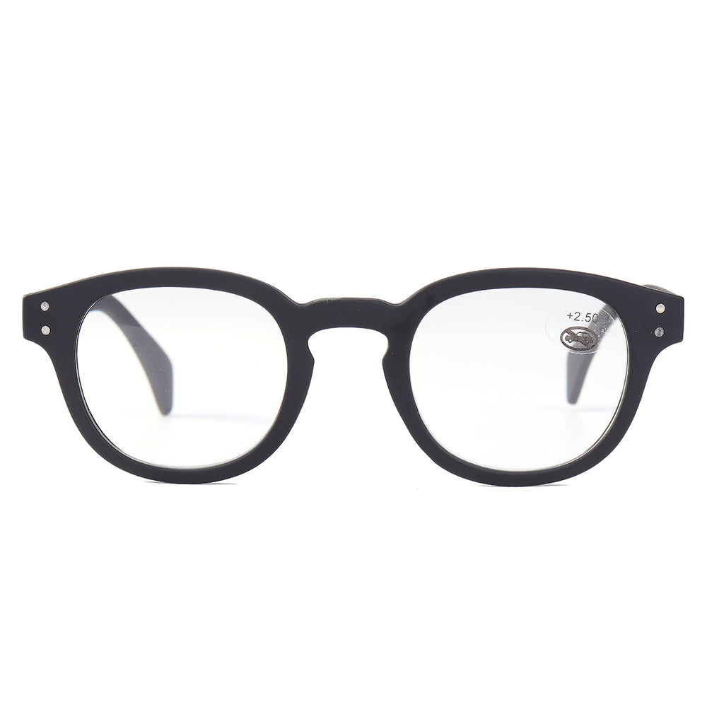 Fashion Reading Glasses Resin Spring Legs Presbyopia Glasses
